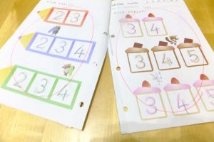 公文,ドリル,宿題,幼稚園生,4歳,国語,継続,早期,教育,式,算数