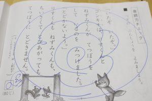 くもん チェック テスト 国語