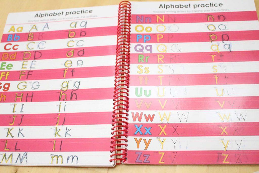 アルファベット 練習帳 消せる お得 人気