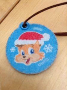クリスマスイベント お土産 WFC DWE 画像 ジッピー