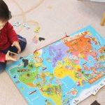 ワールドマップ,口コミ,子供,世界地図,記憶,方法