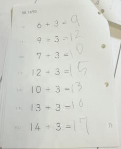 公文,くもん,kumon,算数,数学,子供が勉強する,続ける
