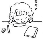 習い事,爆睡,3歳,くもん,眠たくなる
