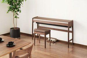 ピアノ,おしゃれ,でんしぴあの,電子ピアノ,デジタル,カリモク,家具