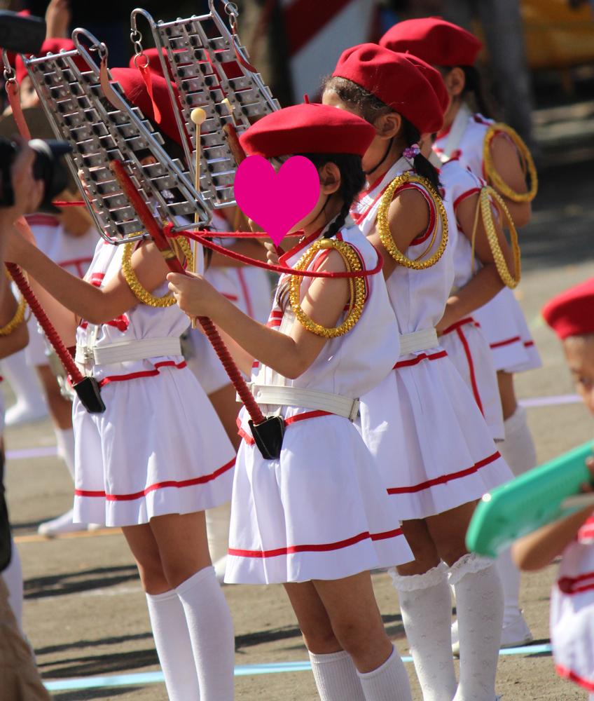 鼓笛隊,年長,幼稚園,運動会