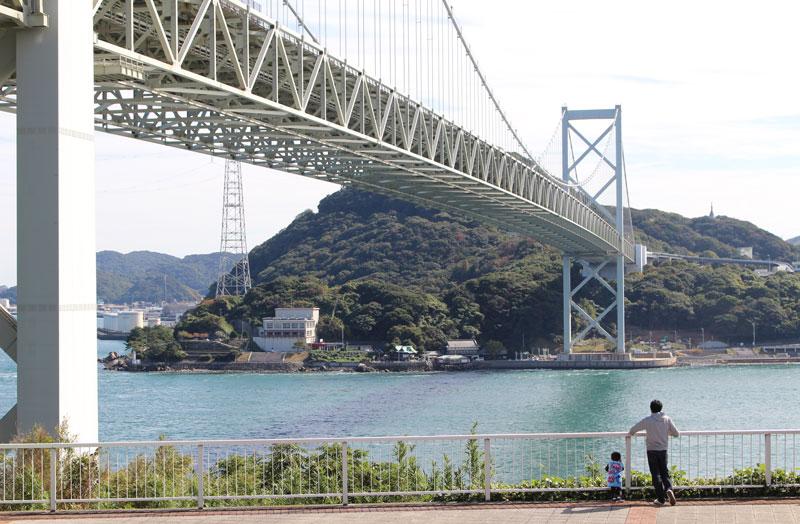 関門海峡,壇之浦,PA,眺め,下り
