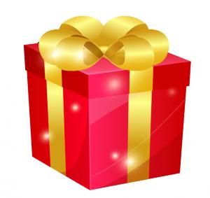 誕生日プレゼント,赤い箱,DWE,ディズニー英語システム