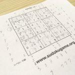 ナンプレ,数独,sudoku,難しい,集中力,教育