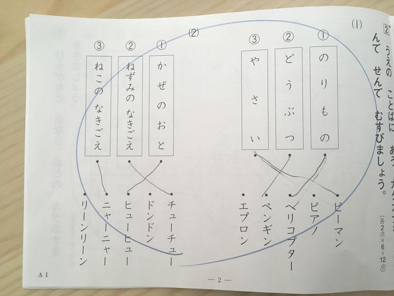 国語,4歳,公文,A1