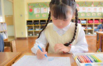 授業参観,小学校,私立,
