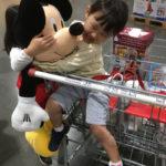 DWE,ミッキー,人形,ぬいぐるみ,コストコ