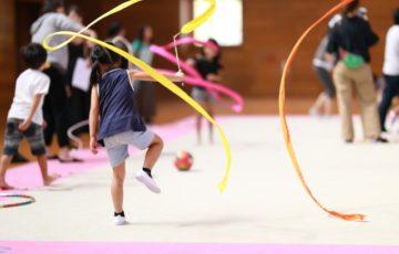 新体操,成長,早期,教育,スピード