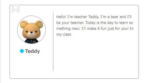 netivecamp,オンライン英会話,子供,楽しいネイティブキャンプ,テディ,