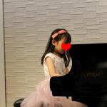 ピアノ,発表会,5歳,はじめて,かわいい,