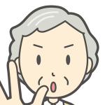 人物,先生,おばあさん