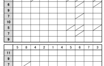 100マス計算,無料,引き算,簡単